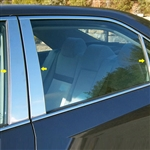 Toyota Camry Chrome Pillar Post Trim 6pc. Set, 2012, 2013, 2014