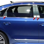 Volkswagen Passat Chrome Pillar Post Trim, 2012, 2013, 2014, 2015, 2016, 2017, 2018, 2019