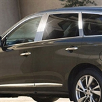 Infiniti JX35 Chrome Pillar Post Trim, 2013