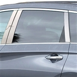 Infiniti QX60 Chrome Pillar Post Trim, 2014, 2015, 2016, 2017, 2018, 2019