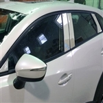 Mazda CX-3 Chrome Pillar Post Trim 2016, 2017, 2018, 2019