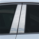 Jaguar E-Pace Chrome Pillar Post Trim, 2018, 2019, 2020