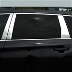 Buick Lacrosse Chrome Pillar Post Trim,  2017, 2018, 2019