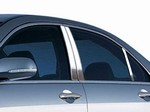 Honda Accord Chrome Pillar Post Trim, 6pc  2003 - 2007