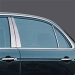 Jaguar XJ8 Chrome Pillar Post Trim, 2004, 2005, 2006, 2007, 2008, 2009