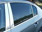 Volkswagen Passat Chrome Pillar Post Trim, 2006, 2007, 2008, 2009, 2010, 2011
