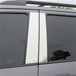 Toyota Sequoia Chrome Pillar Post Trim, 2008, 2009, 2010, 2011, 2012, 2013, 2014, 2015, 2016, 2017, 2018, 2019, 2020