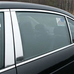 Honda Accord Sedan Chrome Pillar Post Trim, 6 piece set, 2008, 2009, 2010, 2011, 2012