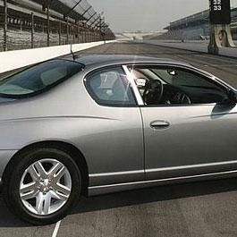 Chevrolet Monte Carlo Ss 2dr Chrome Pillar Post Trim 2pc