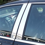 Lincoln Town Car Chrome Pillar Post Trim, 1998 - 2011