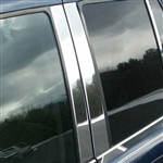 GMC Envoy Chrome Pillar Post Trim, 2002, 2003, 2004, 2005, 2006, 2007, 2008, 2009