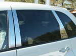 Chrysler PT Cruiser Chrome Pillar Post Trim, 6pc  2003 - 2008