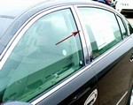 Chevy Malibu Chrome Pillar Post Trim, 4pc  2004 - 2007