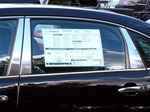 Chevrolet Impala Chrome Pillar Post Trim, 6pc. Set, 2006, 2007, 2008, 2009, 2010, 2011, 2012, 2013