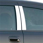Dodge Charger Chrome Pillar Post Trim, 4pc  2006 - 2010