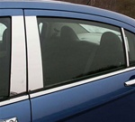 2007 - 2008 Chrysler Sebring Stainless Steel Pillar Post Trim (6pc)
