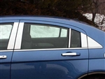 Chrysler 200 Chrome Pillar Post Trim, 2011, 2012, 2013, 2014