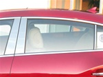 Buick Lacrosse Chrome Pillar Post Trim, 6pc. Set, 2010, 2011, 2012, 2013, 2014, 2015, 2016