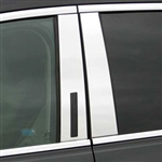 Lincoln MKT Chrome Pillar Post Trim, 2010, 2011, 2012, 2013, 2014, 2015