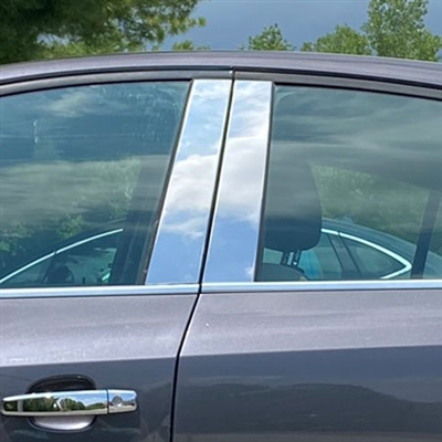 Chevrolet Cruze Chrome Pillar Post Trim, 2011, 2012, 2013, 2014, 2015