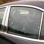 Chevrolet Malibu Chrome Pillar Post Trim, 2013, 2014, 2015