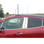 Buick Encore Chrome Pillar Post Trim, 8pc set, 2013, 2014, 2015, 2016, 2017, 2018