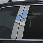 Cadillac Escalade Chrome Pillar Post Trim, 4pc.Set, 2015, 2016, 2017, 2018, 2019, 2020