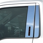 Ford F150 Chrome Pillar Post Trim, 2015, 2016, 2017, 2018, 2019
