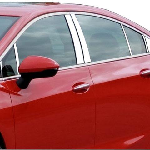 2016 2017 2018 2019 Chevy Cruze CHROME Door Handle Covers Trims no Smart Keys