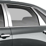 Cadillac CT6 Chrome Pillar Post Trim, 2016, 2017, 2018, 2019, 2020