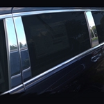Chrysler Voyager Chrome Pillar Post Trim, 6pc  2020