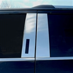 Ford Expedition Chrome Pillar Post Trim, 2018, 2019