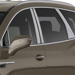 Buick Enclave Chrome Pillar Post Trim, 2018, 2019, 2020