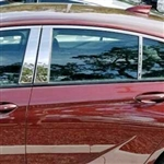 Buick Regal Sportback Chrome Pillar Post Trim, 2018, 2019, 2020