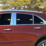 Cadillac XT4 Chrome Pillar Post Trim, 2019, 2020