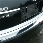 Honda Accord Sedan Chrome Rear Bumper Trim, 2008, 2009, 2010, 2011, 2012