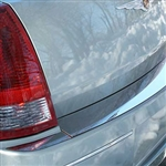 Chrysler 300 Chrome Rear Bumper Trim, 2005, 2006, 2007, 2008, 2009, 2010