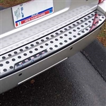 Dodge Nitro Chrome Rear Bumper Trim, 2007, 2008, 2009, 2010, 2011
