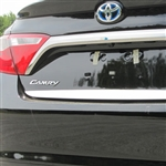 Toyota Camry Chrome Rear Trunk Trim, 2015, 2016, 2017