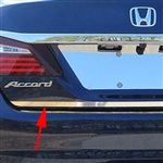 Honda Accord Sedan Chrome Rear Trunk Trim, 2016, 2017