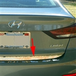Hyundai Elantra Sedan Chrome Rear Trunk Trim, 2017, 2018