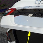 Toyota Camry Chrome Rear Trunk Trim, 2018, 2019, 2020