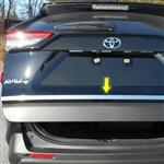 Toyota Rav4 Chrome Tailgate Trim, 2019, 2020