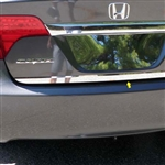 Honda Civic Sedan Chrome Rear Deck Trim, 2006, 2007, 2008, 2009, 2010, 2011