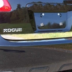Nissan Rogue Chrome Rear Deck Tailgate Trim, 2008, 2009, 2010, 2011, 2012, 2013