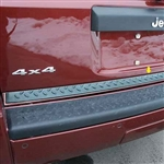 Jeep Commander Chrome Tailgate Trim, 2006, 2007, 2008, 2009, 2010