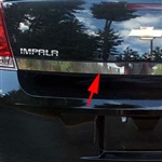 Chevrolet Impala Chrome Rear Deck Trim, 2006, 2007, 2008, 2009, 2010, 2011, 2012, 2013