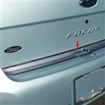 Ford Focus Chrome Rear Deck Trunk Trim, 2008, 2009, 2010, 2011