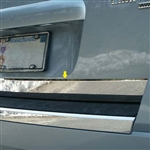 Ford Taurus X Chrome Rear Deck Trunk Trim, 2008, 2009, 2010