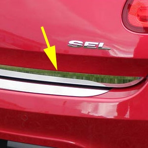 Ford Taurus Chrome Rear Deck Trunk Trim, 2010, 2011, 2012, 2013, 2014, 2015, 2016, 2017, 2018, 2019